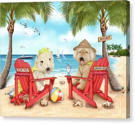 Loving Key West Canvas Print