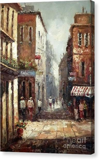 Loving Narrow Streets Canvas Print