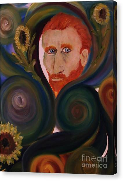 Loving Vangogh Canvas Print