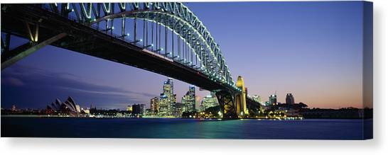 Harbor Canvas Print - Low Angle View Of A Bridge, Sydney by Panoramic Images