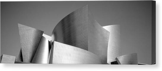 Modern Architecture Canvas Print - Low Angle View Of A Building, Walt by Panoramic Images