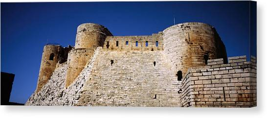 Syrian Canvas Print - Low Angle View Of A Castle, Crac Des by Panoramic Images
