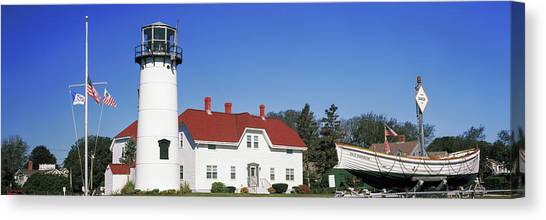 Chatham Canvas Print - Low Angle View Of A Lighthouse, Chatham by Panoramic Images