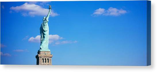 Statue Canvas Print - Low Angle View Of A Statue, Statue by Panoramic Images