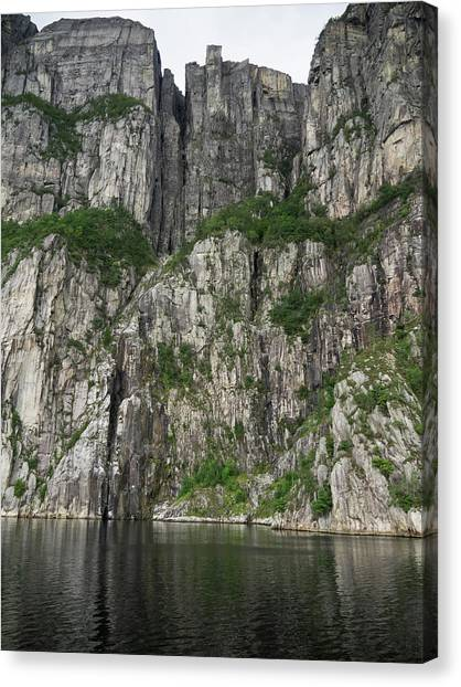 Preikestolen Canvas Print - Low Angle View Of Cliff, Preikestolen by Panoramic Images