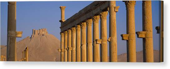 Syrian Canvas Print - Low Angle View Of Great Colonnade by Panoramic Images