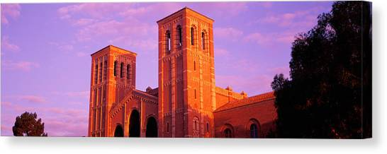 Ucla Canvas Print - Low Angle View Of Royce Hall by Panoramic Images