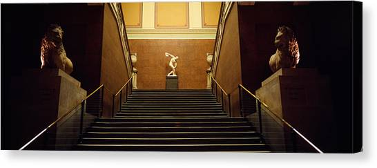 The British Museum Canvas Print - Low Angle View Of Staircase, British by Panoramic Images
