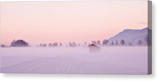 Low Fog Canvas Print