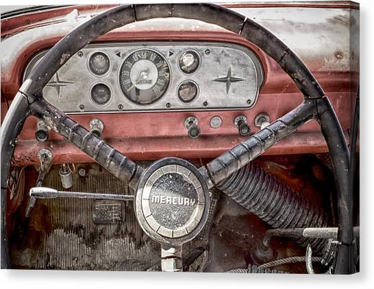 Low Mileage Mercury Canvas Print