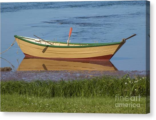 Low Tide Reflection Canvas Print