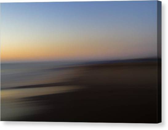 Low Tide Canvas Print by Steve Belovarich