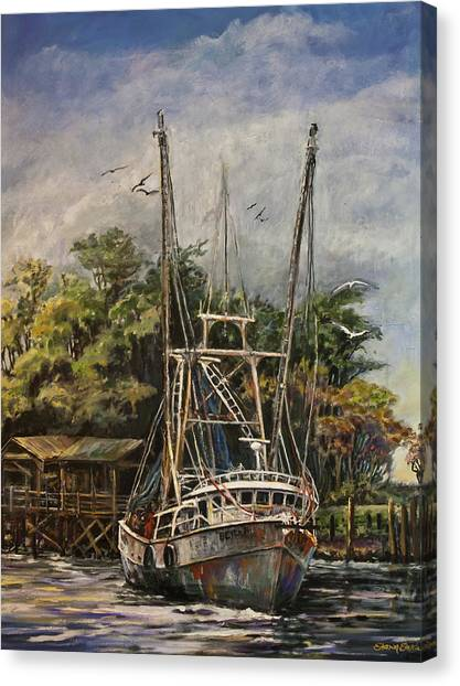 Lowcountry Veteran Canvas Print