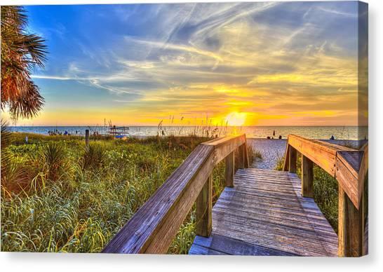 Lowdermilk Sunset Canvas Print
