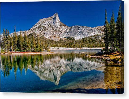 Lower Cathedral Lake Canvas Print