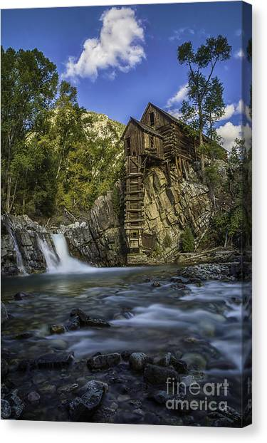 Lower Crystal Mill  Canvas Print
