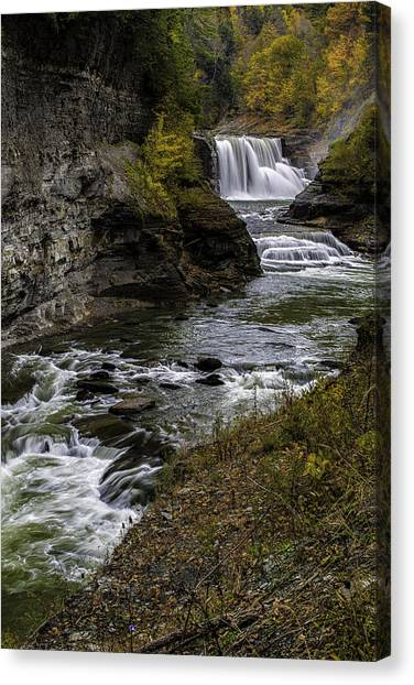Lower Falls Canvas Print