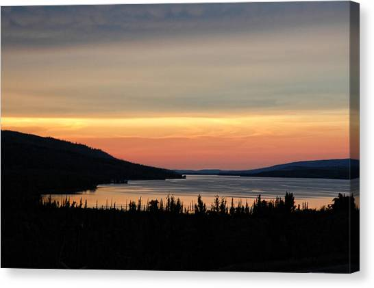 Lower Lake St. Mary Canvas Print
