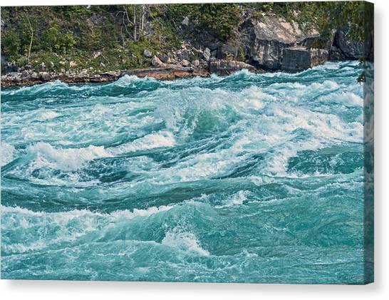 Lower Niagara River Ontario Canada Canvas Print