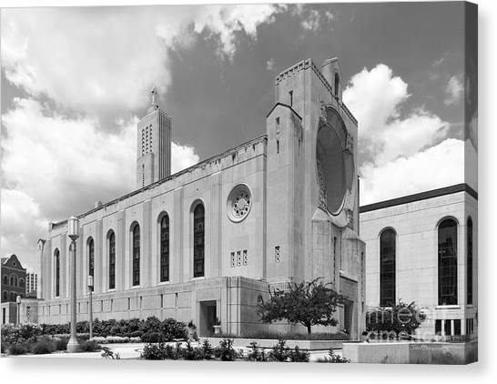 Loyola University Chicago Canvas Print - Loyola University Madonna Della Strada Chapel by University Icons
