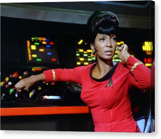 Uhura Canvas Print - Lt Uhura by Mountain Dreams
