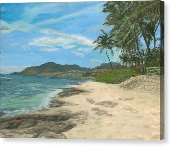 Lualualei Beach Canvas Print