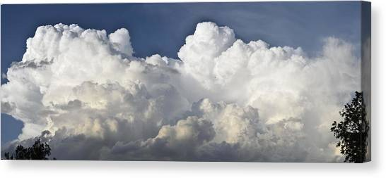 Thunderstorms Canvas Print - Lubbock Cloud Formation by James W Johnson