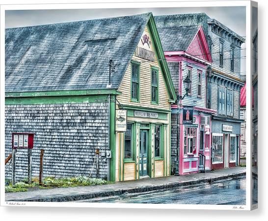 Lubec Maine Canvas Print
