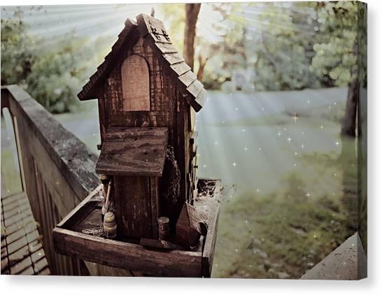 Lucid Bird House Canvas Print
