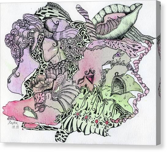Lucid Mind - 13 Canvas Print