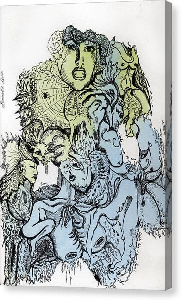 Lucid Mind - 2 Canvas Print