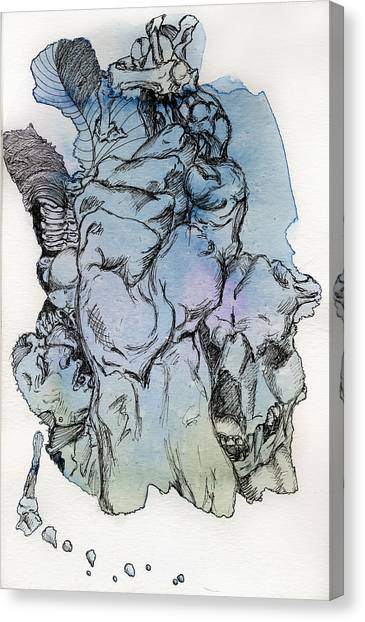 Lucid Mind - 8 Canvas Print