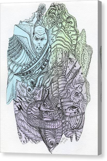Lucid Mind - 9 Canvas Print