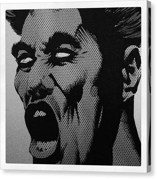 Satan Canvas Print - Lucifer Shouts. From The Sandman - by Joshua Johnson