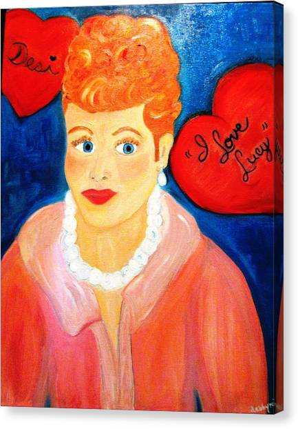 Lucile Ball Canvas Print
