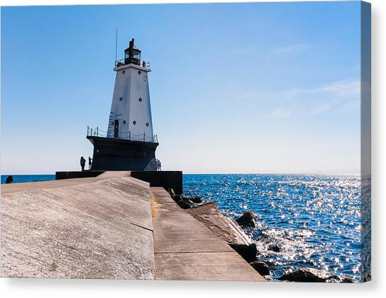 Ludington Lighthouse Canvas Print