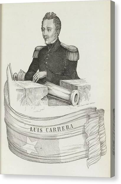 American Independance Canvas Print - Luis Carrera by British Library