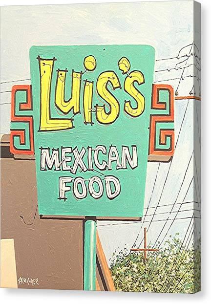 Luis's Canvas Print by Paul Guyer