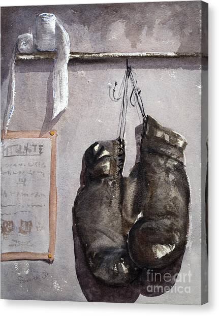 Coexist Canvas Print - l'ultime combat Ultimate Combat by Dominique Serusier