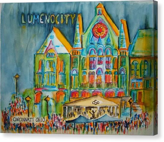 Lumenocity  Canvas Print