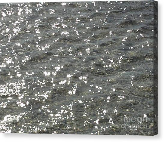 Luminary Sea Canvas Print by Katerina Kostaki