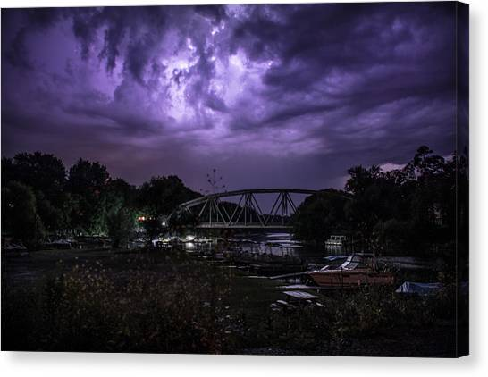 Luminescence Canvas Print