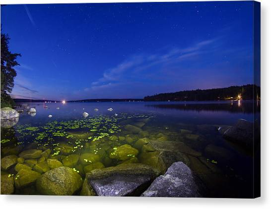 Luminous Lake Canvas Print
