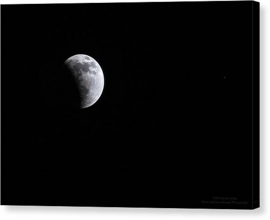 Lunar Night By Denise Dube Canvas Print