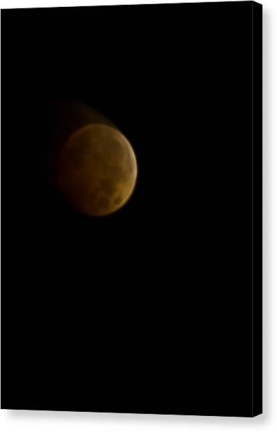 Lunar Blood Canvas Print