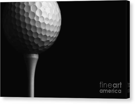Lunar Golf Canvas Print