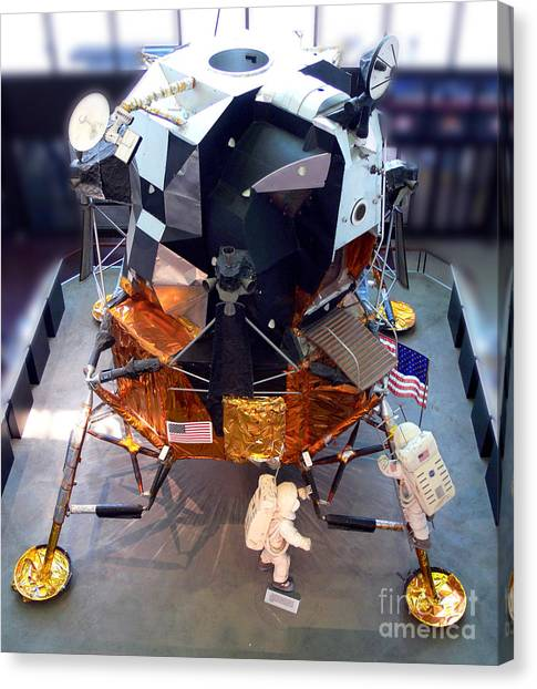 Smithsonian Museum Canvas Print - Lunar Module by Kevin Fortier