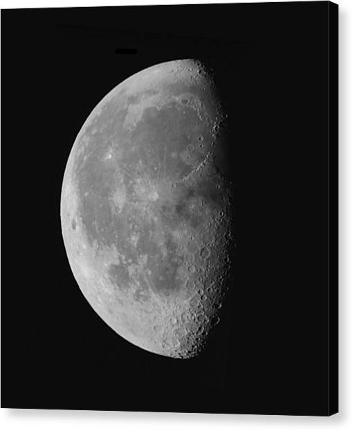 Luna's Beauty II. Canvas Print