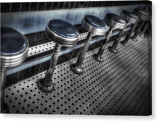 Lunch Counter Canvas Print
