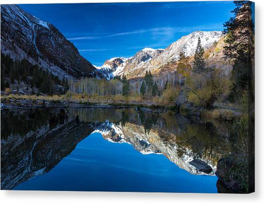 Lundys Reflection Canvas Print